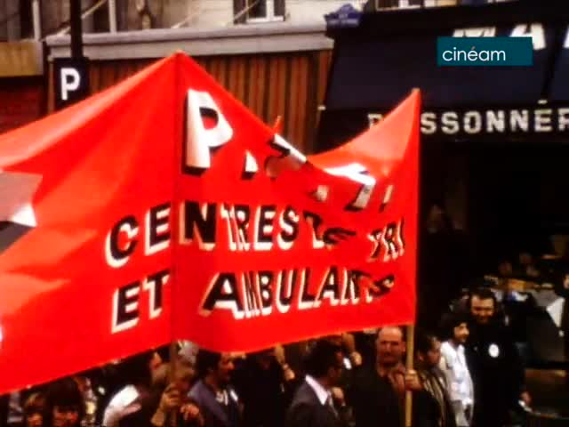 Manifestation CGT-CFDT ; Conférence PCF